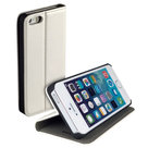 Apple-iPhone-6-Wallet-Book-Case-cover-Y-met-standfunctie-Wit
