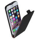 Pearlycase-Lederlook-Flip-case-klap-hoesje-cover-Apple-iPhone-6-Lederlook-Flip-case-klap-hoesje-cover-Zwart