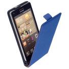 Y-Leder-Flip-case-cover--Huawei-Honor-6-Blauw