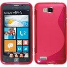 Samsung,ativ,s,slicone,case,hoesje,roze