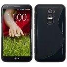 Lg,K10,smartphone,hoesje,slicone,case,zwart