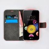 LG-K4-smartphone-hoesje-book-style-wallet-case-rood