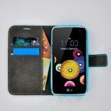 LG-K4-smartphone-hoesje-book-style-wallet-case-turquoise