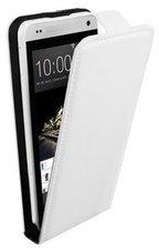 HTC-One-S9-smartphone-hoesje-lederlook-flip-case-wit