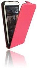 HTC-One-S9-smartphone-hoesje-lederlook-flip-case-roze