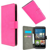 HTC-One-S9-smartphone-wallet-book-style-case-roze