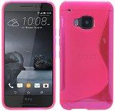 HTC-One-S9-smartphone-hoesje-siliconen-tpu-case-s-line-roze